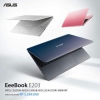 NOTEBOOK ASUS VIVOBOOK E12 E203MA - N4000 DC/2GB/500GB/WIN 10