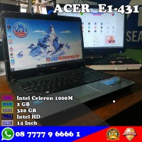 Laptop ACER Aspire E1-431- Intel Celeron
