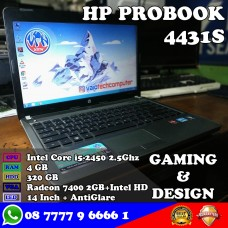 Laptop HP Probook 4431s - Intel Core i5 Gaming