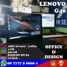 Laptop Lenovo G40 - AMD A8 6410