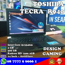 Laptop Toshiba Tecra R940 - Intel Core i5 Gaming