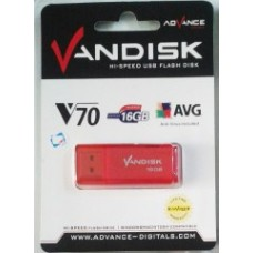 Vandisk V70 USB Flashdisk - 16 GB