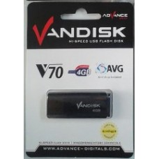 Vandisk V70 USB Flashdisk - 4 GB
